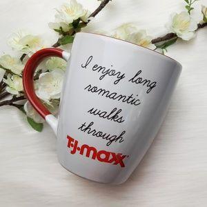TJ Maxx Shopaholic Large Novelty Coffee Mug